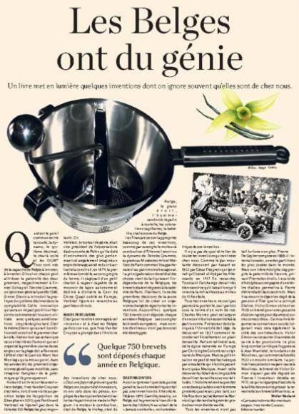 Curieuses histoires des inventeurs belges r flexions du for Invention miroir